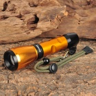 Raysoon RS-J20 120LM 3-Mode White Flashlight - Golden (1 x 18650)