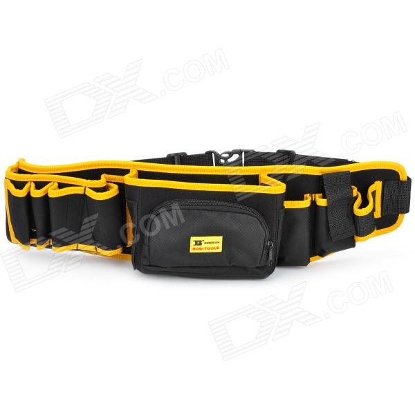 12-in-1 BOSI Professional Tool Bag for Craftsman - Yellow + Black