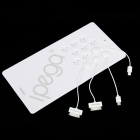 iPEGA Magnetic Induction Charger for iPhone / iPad / iPod / Samsung / HTC / Blackberry - White