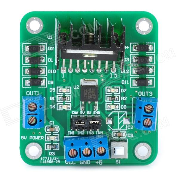 L298N Stepper Motor Driver Controller Board Module yako stepper servo drive ssd2608h voltage dc30 110v ac20 80v modular hybrid closed loop stepper driver 3000r min