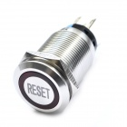 DIY Water Resistance Stainless Steel Push Button Switch