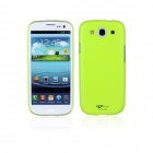 Protective ABS Plastic Case for Samsung Galaxy S3 i9300 - Green