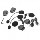 1000M Handsfree Bluetooth Intercom Set for Motorcycle and Skiing Helmet (7-Hour Talk)