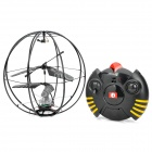 3.5-CH Infrared R/C Flying Ball Frame w/ Gyro - Black (6 x AA)