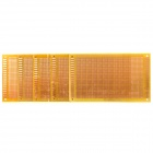 Glass Fiber Prototyping PCB Universal Board - Yellow (5-Pack)