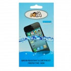 Protective Waterproof TPU Skin Cover Case Bag for Iphone 4 / 4S - Transparent
