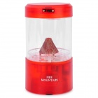 Fashionable Miniquarium Fire Mountain Virtual USB Volcano - Red