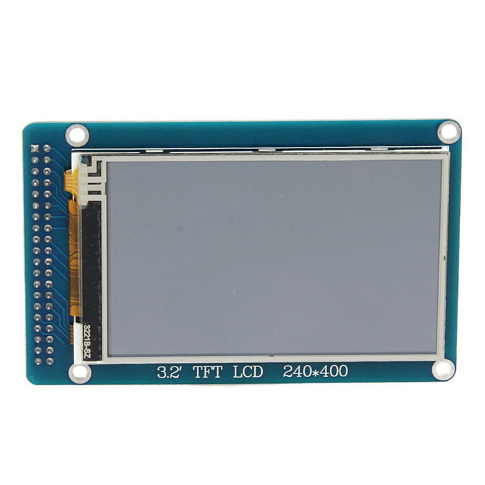 3.2 TFT LCD Wide Touch Screen Module w/ Stylus for Arduino (Works with Official Arduino Boards) robopeak 2 8 lcd resistance touch screen module w micro usb black