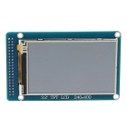 "Arduino Compatible 3.2"" TFT LCD Wide Touch Screen Module w/ Stylus - Blue"