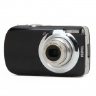 "DC-110 3.0"" LCD TFT Max 16MP Interpolation 5X Optical Zoom Digital Camera - Black"