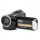 "HD-C6 2.7 ""TFT LCD 5.0MP CMOS Digitalkamera Camcorder w / 8-fachem Digitalzoom - Schwarz"