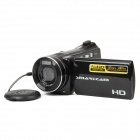 "HDV-5006 3.0"" TFT LCD 5.0MP CMOS Digital Camera Camcorder w/ 4X Digital Zoom - Black"