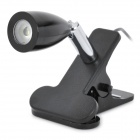 TY-908 USB Powered 1W White LED Light with Clip - Black