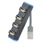 4-Port USB 2.0 HUB - Black