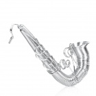 Music Saxophone Toy Decoration Model - Silver