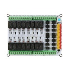 16-Channel 12V Relay Module Expansion Board for Arduino (Works with Official Arduino Boards)