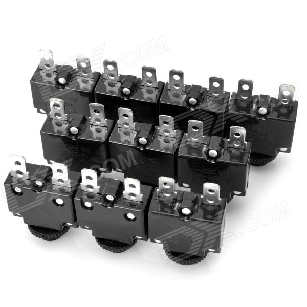 2-Pin Thermal Overload Protection Circuit Breaker (10-Piece Pack) 2 pin thermal overload protection circuit breaker 10 piece pack