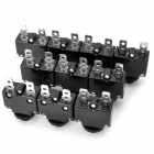 2-Pin Thermal Overload Protection Circuit Breaker (10-Piece Pack)