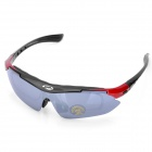 Cycling Bicycle Resin Lens Glasses with Carrying Case