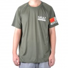 Outdoor SWAT Police War Game T-shirt - Army Green