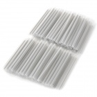Optical Fiber Heat Shrinkable Tube - Silver (100-Piece Pack)