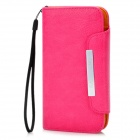 KALAIDENG Protective PU Leather Flip-Open Case for Samsung i9300 - Deep Pink