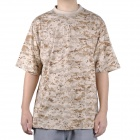Outdoor War Game Pure Cotton T-shirt - Camouflage (Size-XL)
