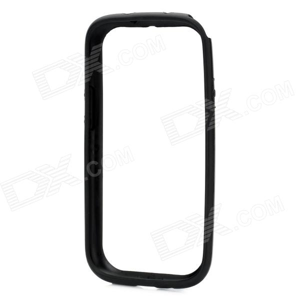 Protective TPU Bumper Frame for Samsung Galaxy S3 i9300 - Black hot protective tpu pvc bumper frame case for samsung galaxy s 3 i9300 white black