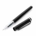 JinHao Exquisite Stainless Steel Fountain Pen - Black