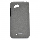 ROCK Quicksand Series Protective PC Back Case for HTC T328D - Grey
