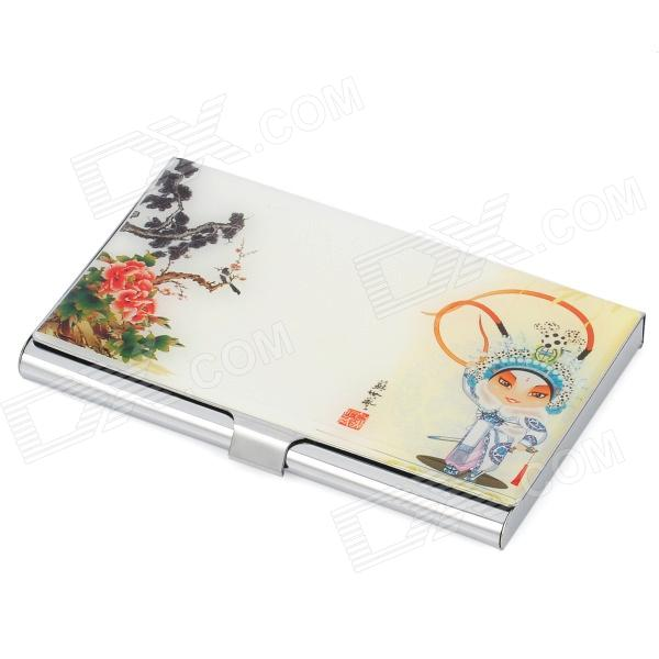 Classical Stainless Steel Business Card Case - Colorful цена и фото