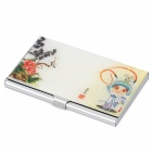 Classical Stainless Steel Business Card Case - Colorful