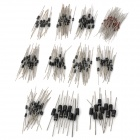 Common Use Axial Schottky / Recovery rápido / Switching / Rectifier Diodes (220-Piece Pack)