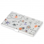Cute Pattern Stainless Steel Business Card Case