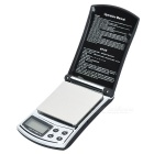 Pocket Flip-Open Digital Precision Scale (200g Max / 0.01g Step)