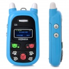 "KONKA A88 GSM Cellphone for Kids w/ 1.0"" LCD Screen, Quad-Band and Single-SIM - Blue"
