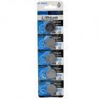 CR2032 3V Lithium Cell Button Battery (5-Piece Pack)