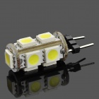 G4 1.8W 116~126lm 6000~6500K 9-SMD LED White Light Car Lamp (12V)