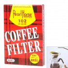 Fan Style Hand Drip Coffee Paper Filter - White (40-Piece Pack)