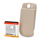 High Capacity 3600mAh Extended Battery with Back Cover for T-Mobile MyTouch 4G Slide - Khaki