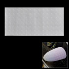 Cat Eyes Design 3D Carbon Fiber Paper Decoration Sheet Car Sticker - White (20 x 50cm)