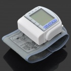 "1.7"" LCD Pulse Scanning Wrist Watch Blood Pressure Monitor -Silver (2 x AAA)"