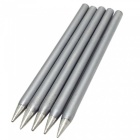 30W Copper Tip for Longevity Electric Soldering Iron - Silver (5-Piece Pack)