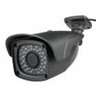 1.3MP Wired Surveillance Security CCTV Camera w/ 48-IR LEDs / RJ45 / Audio - Grey