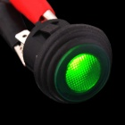 Car Vehicle DIY Push Button Switch with LED Green Light - Black (12V/20A)