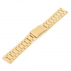 QG-011 Stylish Stainless Steel Wrist Watch Band - Golden