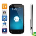 """THL G22 Android 2.3 WCDMA Bar Phone w/ 4.3"""" Capacitive, GPS, Wi-Fi and Dual-SIM - White"""
