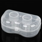 Kawa Soft Silicone Nipple Shields - Transparent White (Pair)