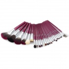 TUBE 24-in-1 Cosmetic Makeup Brushes Set - Pink
