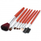 7-in-1 Stylish Wolf Hair Cosmetic Makeup Brushes Set